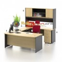 High Point Kozy Mercury - Meja Kantor Set Workstation-1