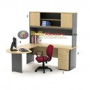High Point Kozy Mercury - Meja Kantor Set Workstation-2