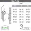 Modera 3 Workstation Series - Full Panel Part