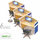 Modera 6 Workstation Series 3 Set Blue
