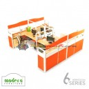 Modera 6 Workstation Series 4 Set Orange