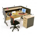 High Point Nine - Meja Resepsionis Oxford Workstation-2